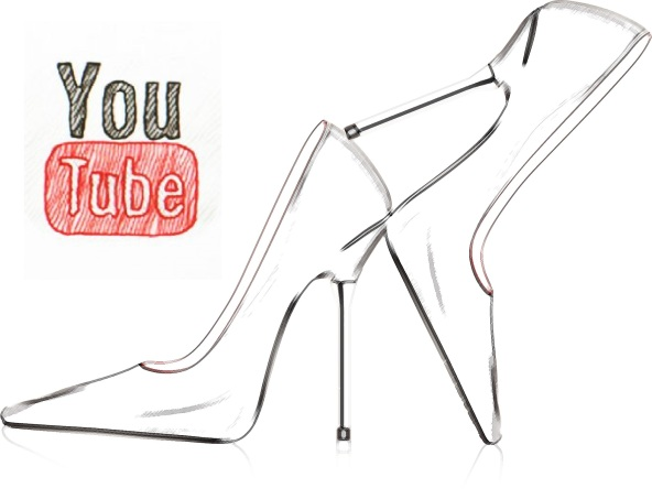 vector high heel shoes with metal stiletto